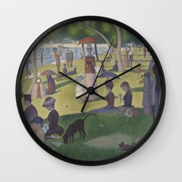 A Sunday on La Grande Jatte,  Georges Seurat Wall Clock