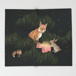 the peace offering Throw Blanket