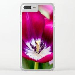 Tiptoe Through Clear iPhone Case