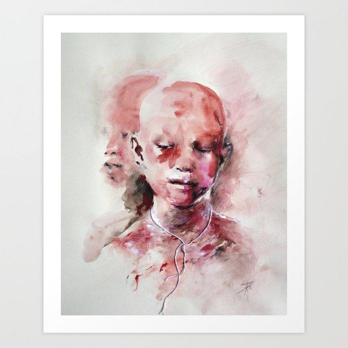 African Boys Art Print