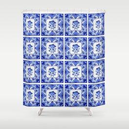 Dutchie Blues 2 Shower Curtain