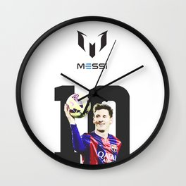 Messi II Wall Clock