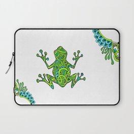 sweetpea frog Laptop Sleeve