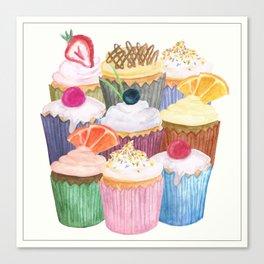 Cupcake Cluster Canvas Print