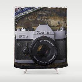 Canon Film Shower Curtain