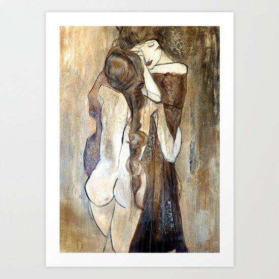 hommage Art Print
