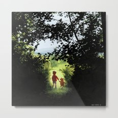 Hundred Acre Wood Metal Print