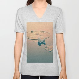 The calm before the storm Unisex V-Neck