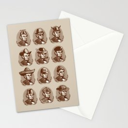 Abe Tries on Hats Stationery Cards