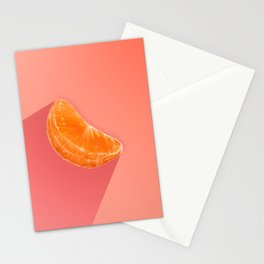 A Single Slice of Mandarin Stationery Cards