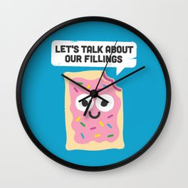 Tart Therapy Wall Clock