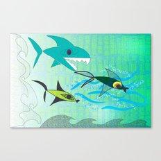 Fish Tale Canvas Print