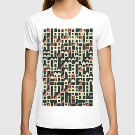 Abstract Geometric Artwork 101 T-shirt