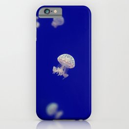 Jelly fish under water Beautiful Fish iPhone Case