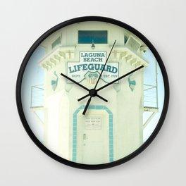 Laguna Lifeguard Wall Clock