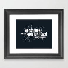 Grammar Rock Framed Art Print