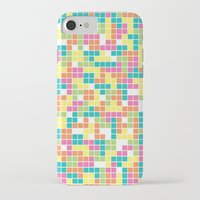 tetris iPhone & iPod Cases featuring Tetris by Alisa Galitsyna