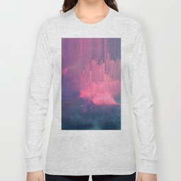 Sweet Stormy Glitches Long Sleeve T-shirt