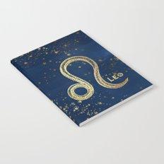 Leo Zodiac Sign Notebook