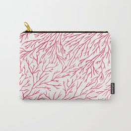 Red Wild Carry-All Pouch