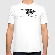 Hotuiti SMALL White Mens Fitted Tee