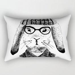 Hiphop Beanie Bunny Top Rectangular Pillow