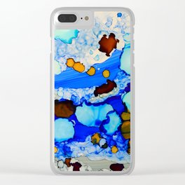Abstract 23 Clear iPhone Case
