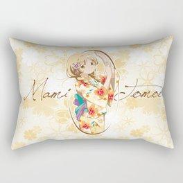 Mami Tomoe - Yukata edit. (rev. 1) Rectangular Pillow