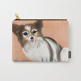James Blonde - a Cannes celebrity papillon dog Carry-All Pouch