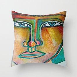 Seen Throw Pillow