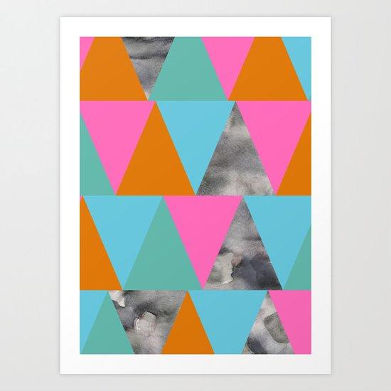Triangle 23 Art Print