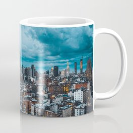 Moody skies over Manhattan Coffee Mug