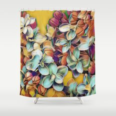 Painted Lilacs Shower Curtain