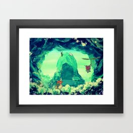 The Forest's Secret Framed Art Print