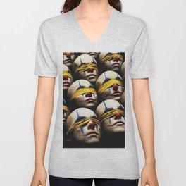 Blinded clowns Unisex V-Neck