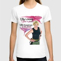 stargate T-shirts featuring She's Beauty, She's Grace, She'll Punch You In The Face by nubbinsammy