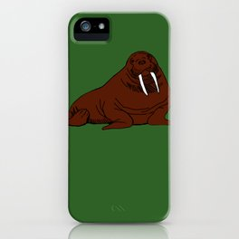 The august walrus iPhone Case