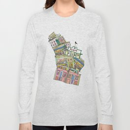 old houses Long Sleeve T-shirt