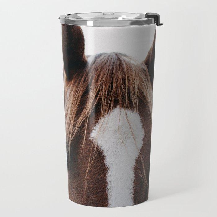 Benny the Brown Horse Travel Mug