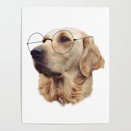 Nerd Doggo Poster