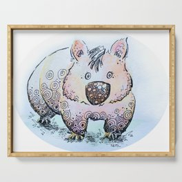 Wendy the Wombat Serving Tray