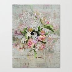Happy Flower Explosion Canvas Print