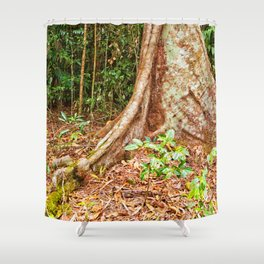 A firm grip on mother earth Shower Curtain