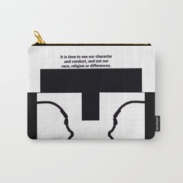 Race Relations Carry-All Pouch