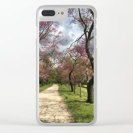 A Path of Romance, France Clear iPhone Case
