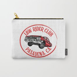 Low rider Club, Pasadena, California. Carry-All Pouch