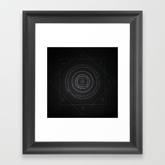 As Above, So Below Framed Art Print