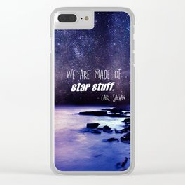 Star Stuff Clear iPhone Case