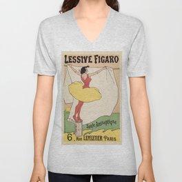 Detergent Figaro by Gausson Unisex V-Neck