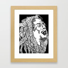 Get up, Stand Up Framed Art Print